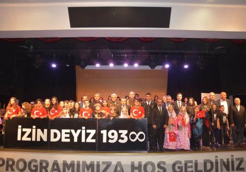 Gazi Mustafa Kemal Atatürk, Çekmeköy'de Düzenlenen Törenlerle Anıldı